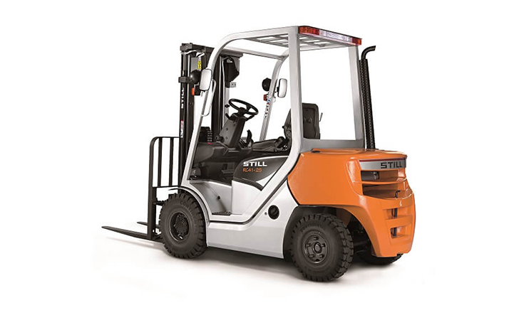 Dizel ve LPG'li Forkliftler || Adil A.Ş
