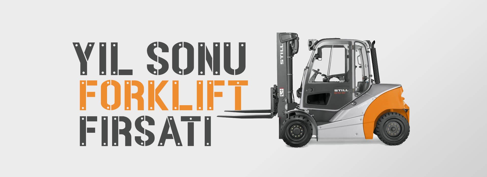 Yıl Sonu Forklift Kampanyası || Adil A.Ş